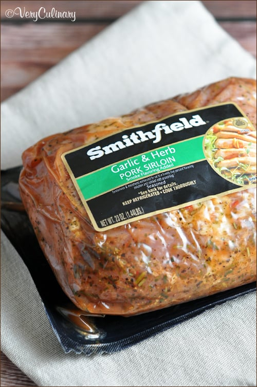 Smithfield Garlic & Herb Pork Sirloin