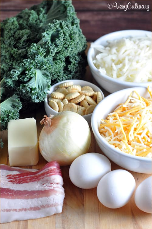 Ingredients for the best Quiche!