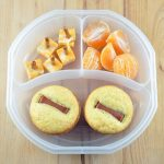 Back To School Lunchbox: Corn Dog Muffins with Cheese Wands and Clementines