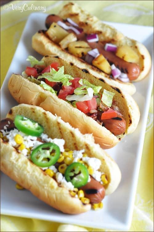 Classic Hot Dog Combinations