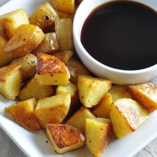 Malt Vinegar Roasted Potatoes