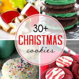 30+ Christmas Cookies!