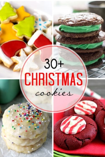 Over 30 Cookies to Celebrate Christmas, Hanukkah, and the winter season!