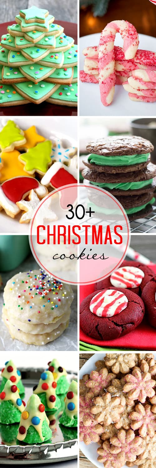 Over 30 Cookies to Celebrate Christmas, Hanukkah, and the winter season!