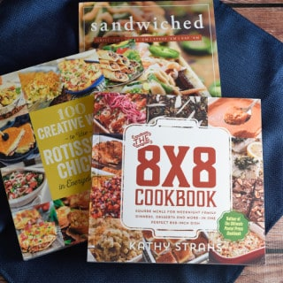 Cookbook Trio Giveaway!