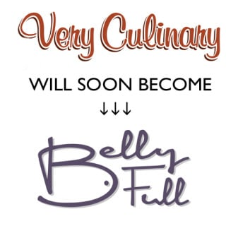 Very Culinary will become Belly Full in Janaury 2016