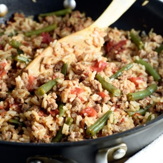 Turkey and Rice Skillet