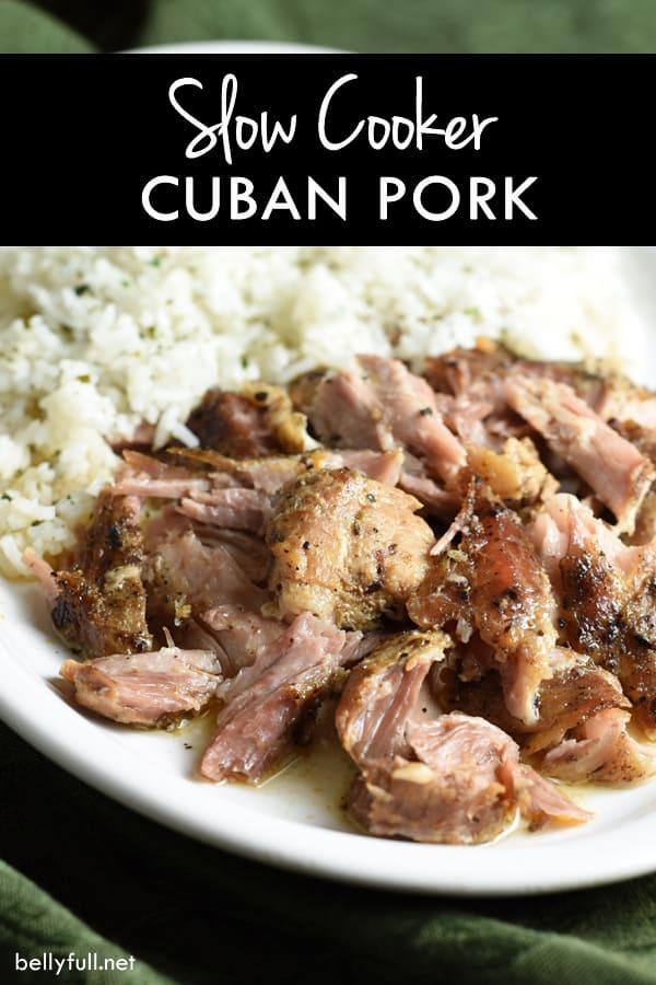 Crockpot Cuban Pork Recipe — Dishmaps