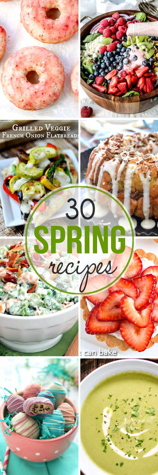30 Recipes to Welcome in Spring!