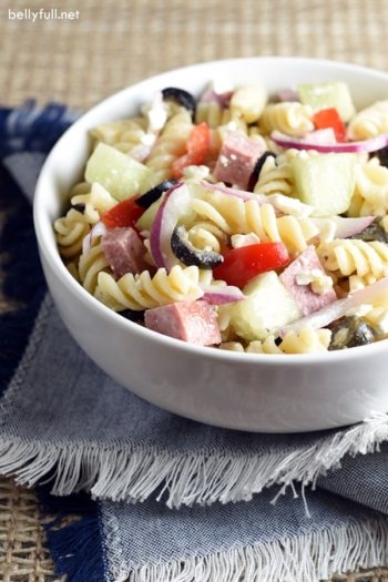 Greek Summer Pasta Salad