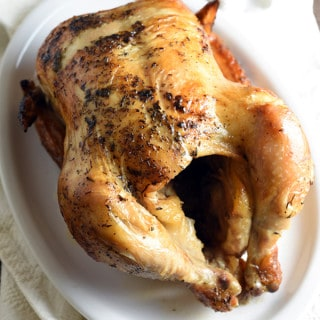 This slow cooker whole chicken provides delicious and moist chicken for a great dinner at the end of the day. Set it and forget it! Choose from Italian, Spanish, Asian, and Ranch seasonings!