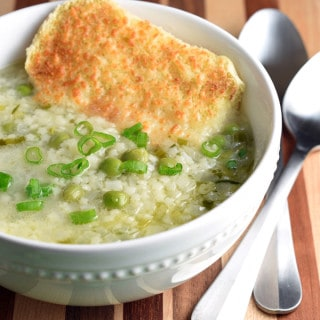 This Spring Onion and Sweet Pea Soup is a simple, light, and flavorful dish, perfect for the shift between seasons.