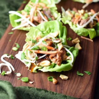 These Beef Lettuce Cups are quick, light, refreshing, filling, and absolutely delicious. Perfect for summer when you don't want to turn on the oven!