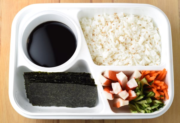 Back To School Lunch Box - Build Your Own Sushi Roll