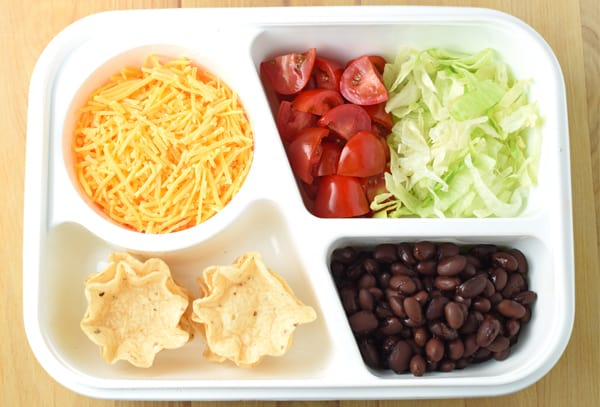Back To School Lunch Box - Build Your Own Taco