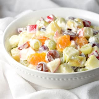 Creamy Delicatessen Fruit Salad