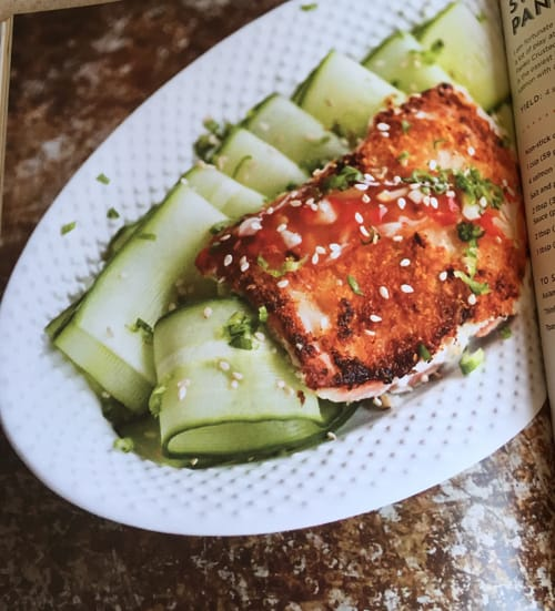 Sweet and Spicy Panko Crusted Salmon - from the Not Your Mama's Canning Book