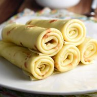 Basic crepes are anything but boring. Delicate and buttery, the possibilities for filling them are practically endless!