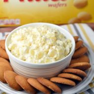 Pineapple Nilla Dip - this sweet and refreshing dip calls for only 5 ingredients and 10 minutes of your time. Great for parties!
