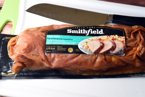 Smithfield pre-marinated Teriyaki pork tenderloin