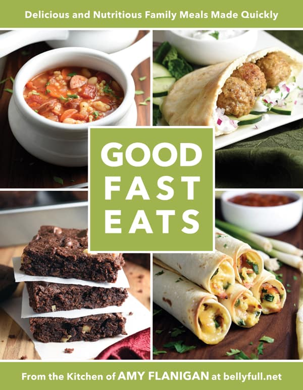 Good Fast Eats cookbook cover