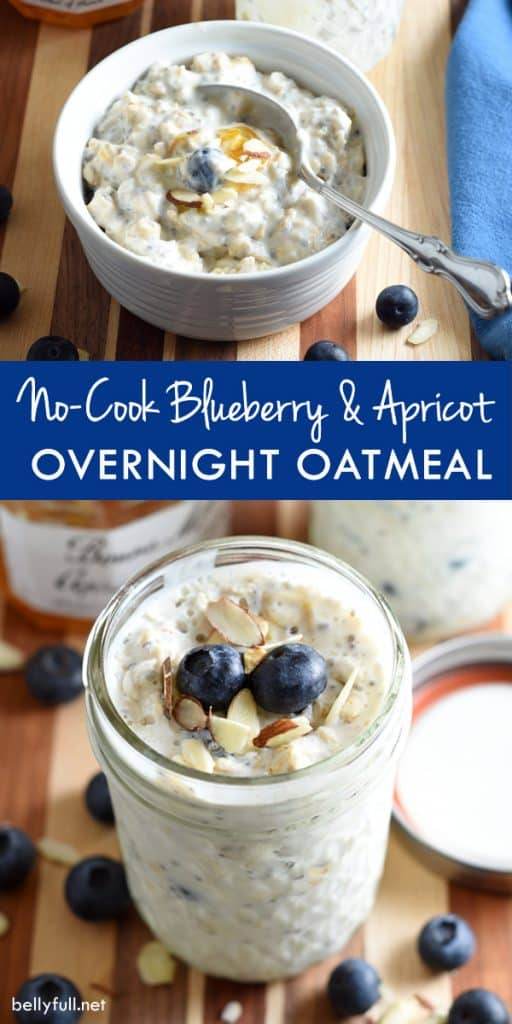 Overnight Refrigerator Oatmeal With Berries Recipe — Dishmaps