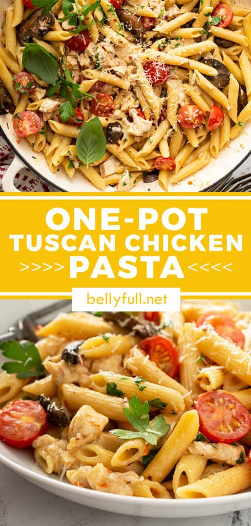 pin for Tuscan Chicken Pasta