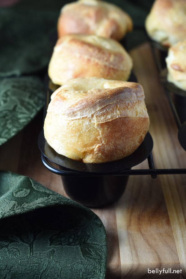 picture of popover in muffin tin