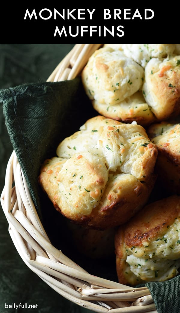 pin for Monkey Bread Muffins