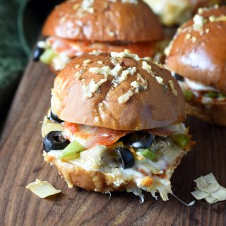 Pizza Supreme Sliders
