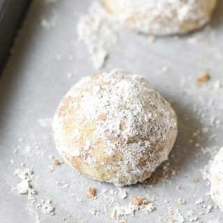 Chai-Spiced Snowball Cookies – and The Gourmet Kitchen cookbook