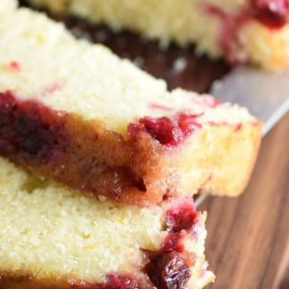 Cranberry Upside-Down Quick Bread
