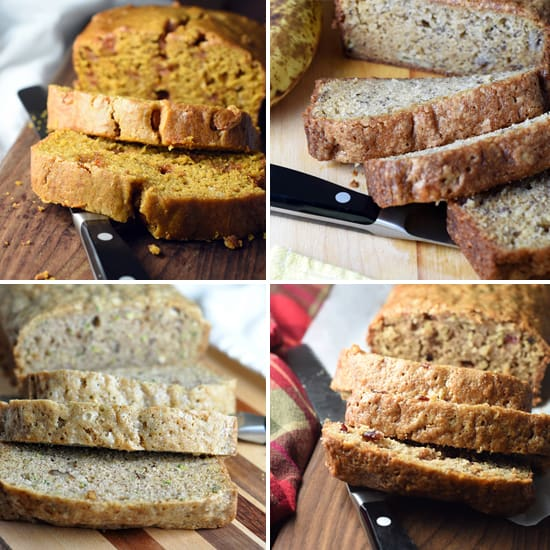 This A-Z Quick Bread is an easy, portable, and versatile quick bread, which makes 2 loaves so you can freeze the other for later. The combinations are endless, so it becomes a different cake every time!