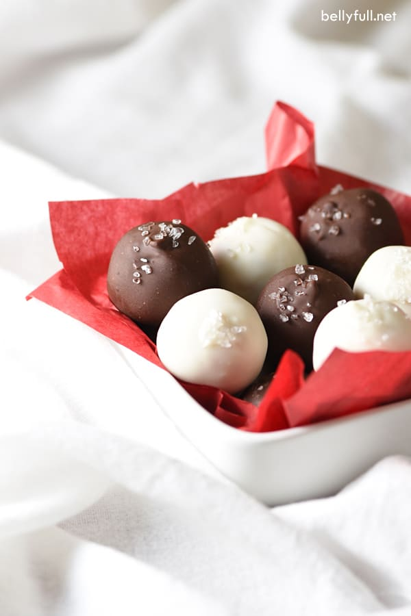 These scrumptious Eggnog Cake Balls are a perfect little treat that can be made up to a week ahead of time. They are sure to be a hit at your next holiday party!