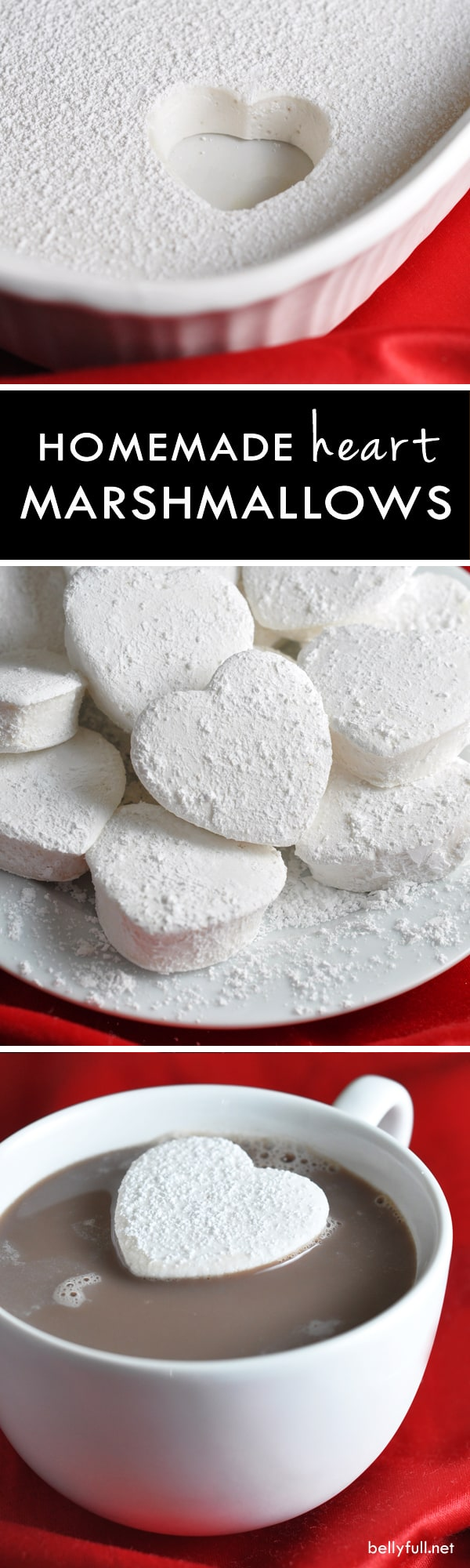pictures of homemade marshmallows shaped like hearts