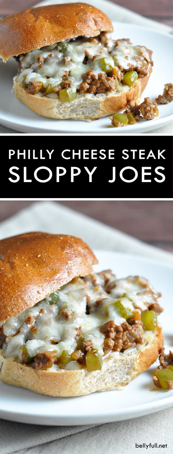 Easy Homemade Philly Cheese Steak Sloppy Joes