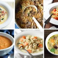 The best simple and quick homemade soups to warm the stomach and soul!