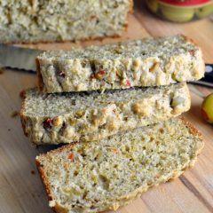 Olive Quick Bread - this savory olive quick bread is perfectly delicious on its own or great served with a salad!