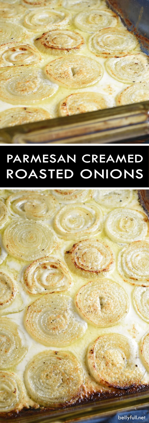 Roasted Parmesan Creamed Onions