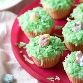 Easter Mini Funfetti Cupcakes