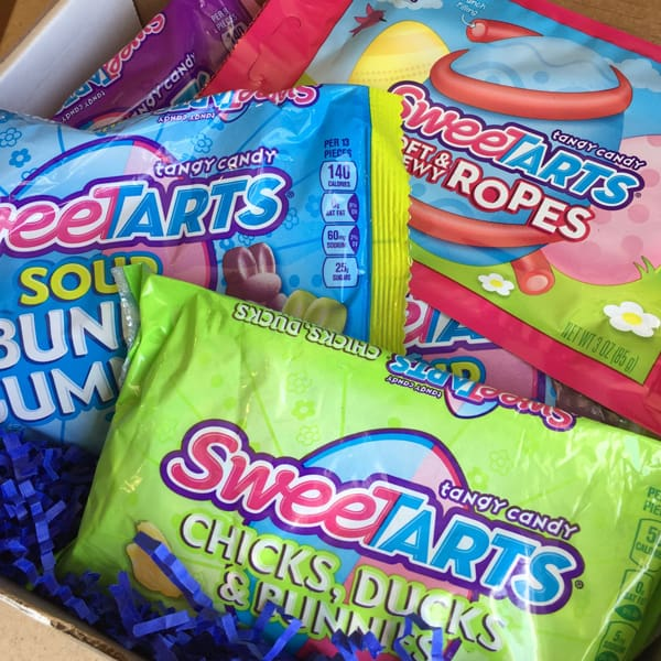 @SweeTARTS Limited Edition springtime candies