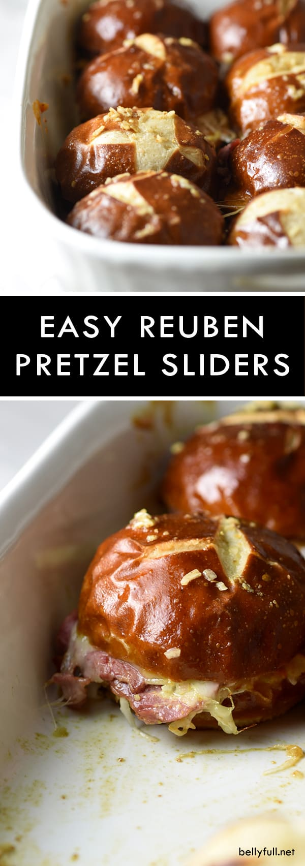 picture of Reuben Pretzel Sliders for a crowd