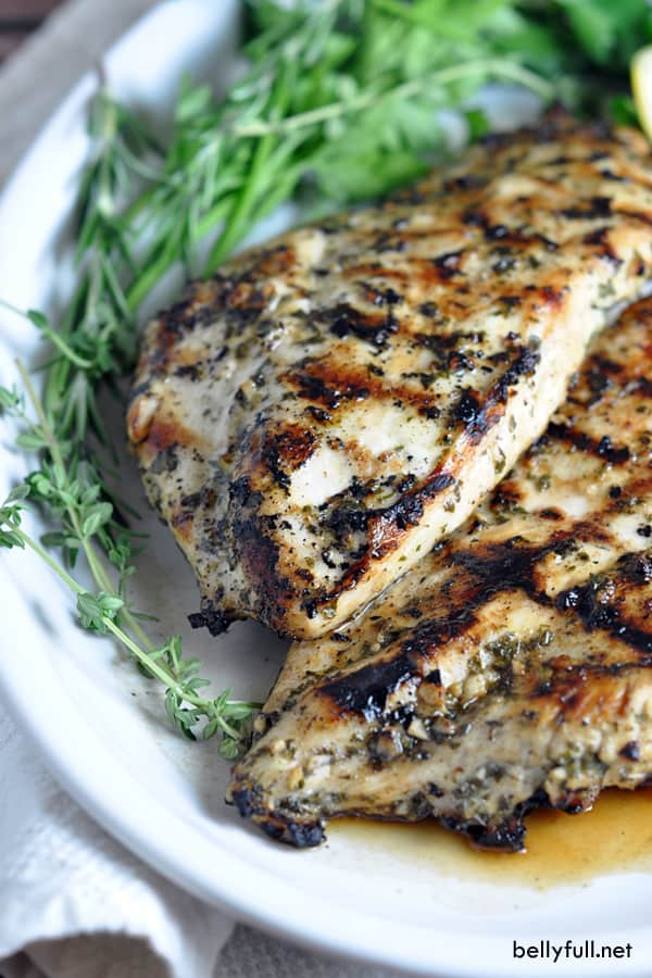 Variants.... You Grilled lemon chicken breast recipe question The