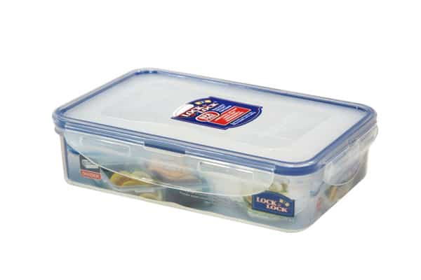 Lunchbox Rectangular Container with Removable Divider