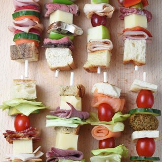 10 Classic Sandwiches On A Stick for Back To School