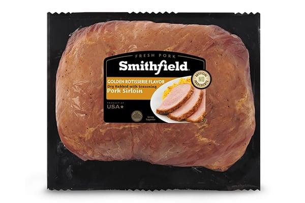 Smithfield Slow Roasted Golden Rotisserie Marinated Fresh Pork Sirloin