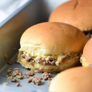 These Chopped Cheeseburger Sliders are a cross between a sloppy joe and a McDonald's Big Mac. They're super easy, delicious, and quite awesome!
