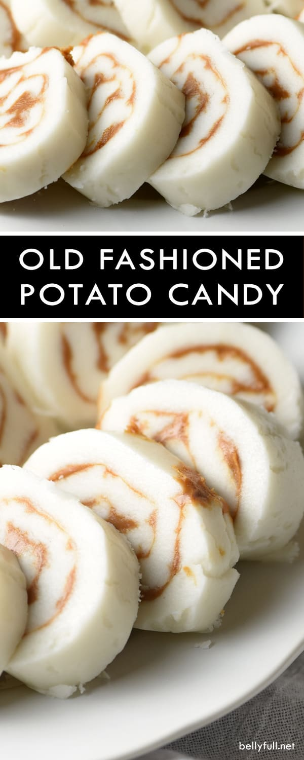pin Old Fashioned Potato Candy