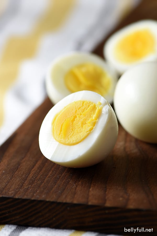 Follow these simple tips on how to make perfectly cooked hard boiled eggs, which result in tender, creamy eggs every time. And no green ring!