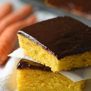 Brazilian Carrot Sheet Cake